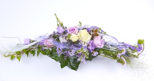 Tischgesteck-lila