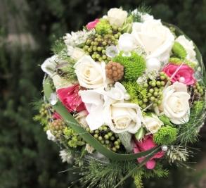 Brautstrauss-rosen